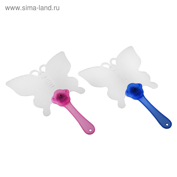 "Световая палочка ""Веер-бабочка"", цвета МИКС"