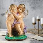 "Статуэтка ""Пара ангелов"", большая, цветная 27 х 20 х 36 см, микс"