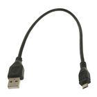 Кабель USB 2.0 Pro Cablexpert CCP-mUSB2-AMBM-0.3M, AM/microBM 5P, 0.3м,  черный, пакет