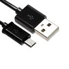Кабель Cablexpert, micro USB - USB, 1 А, 50 см, черный,