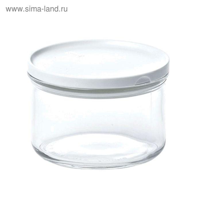 Контейнер Glasslock, круглый, 350 мл, белый