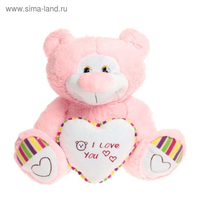 """Мягкая игрушка """"Медведь с сердцем"""" малая, МИКС"""