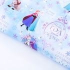 Бумага упаковочная глянцевая «С Новым Годом!», Холодное сердце, 70 х 100 см