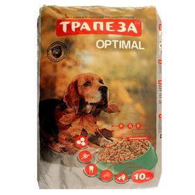 """Сухой корм """"Трапеза"""" ОПТИМАЛЬ для собак, содержащихся в городских условиях, 10 кг"""