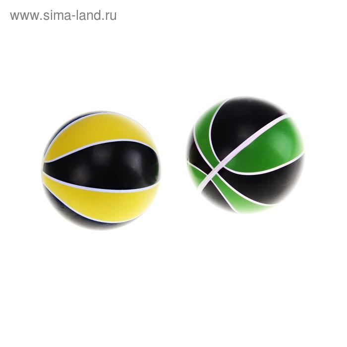 """Мягкий мяч """"Полосатый"""", цвета МИКС"""