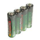 Батарейка солевая Camelion R6-4S (R6P-SP4G), 1.5В, спайка, 4 шт.