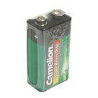 Батарейка солевая Camelion 6F22-1S (6F22-SP1G), 9В, крона, спайка, 1 шт.