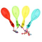Maracas Transparent, illuminated, lace, MIX colors