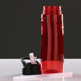 Бутылка для воды спортивная «Классика», 600 мл, микс Ош