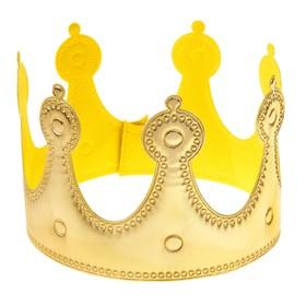 """Корона """"Принцесса"""" золотая"""
