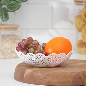 Ваза для хлеба и фруктов 18 см 'Кубань', цвета МИКС Ош