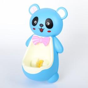 Детский горшок-писсуар на присосках «Панда», цвета МИКС