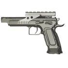 Пистолет пневматический Tanfoglio Gold Custom, к.4,5 мм, металл, блоубэк, серый, 91 м/с