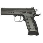 Пистолет пневматический Tanfoglio Limited Custom, к.4,5 мм, металл, блоубэк, черный, 91 м/с   246857