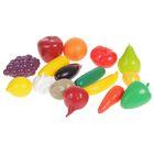 Игровой набор продуктов «Фрукты и овощи», в сетке