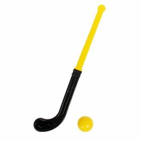 Игра «Хоккей с мячом»: клюшка, шарик