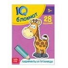"""Блокнот IQ """"Лабиринты и путаницы"""" 28 заданий 12 х 17 см 32 страницы"""