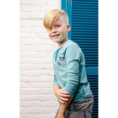 Джемпер для мальчика, рост 98 см, цвет светло-голубой 152-316-06