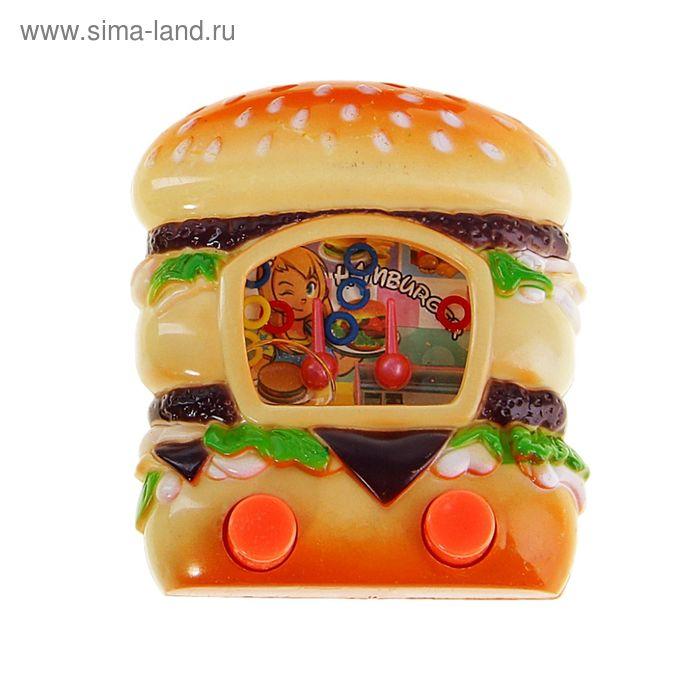 """Водная игра """"Гамбургер"""" цвета МИКС"""
