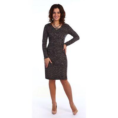 Платье женское Леонор цвет серый, р-р 48