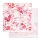 Бумага для скрапбукинга «Одеяло из роз», 30.5 × 30.5 см, 180 г/м