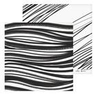 Бумага для скрапбукинга «Чёрная краска», 30.5 × 30.5 см, 180 г/м