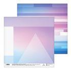 Бумага для скрапбукинга «Светлые полоски», 30.5 × 30.5 см, 180 г/м
