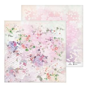 "Paper for scrapbooking ""gardens"", 30.5 x 30.5 cm"
