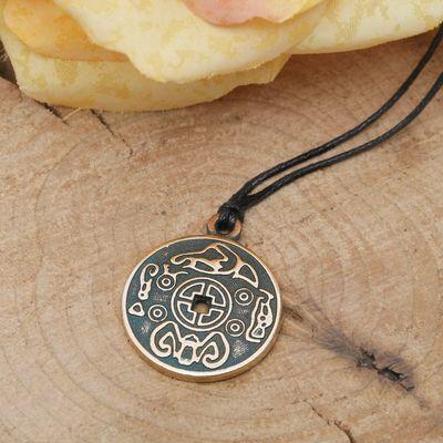 """Амулет """"Монета счастья"""" приносящая удачу в жизни, дружбе и любви"""