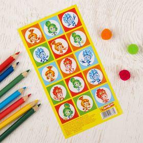 Наклейки детские декоративные ФИКСИКИ 'Друзья', 15 х 8 см Ош