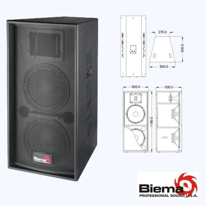 Пассивная акустическая система Biema FP215AIII  600Вт
