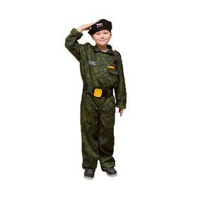 """Карнавальный костюм """"Спецназ"""", берет, комбинезон, пояс 3-5 лет рост 104-116"""