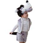 Карнавальный костюм «Волк», шапка, жилет, шорты с хвостом, 3-5 лет, рост 104-116 см - фото 904383