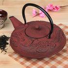 """Чайник с ситом 1,2 л """"Дракон"""", цвет коричневый"""
