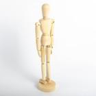 Модель деревянная художественная манекен «Человек», 30 см
