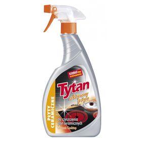 Жидкость для чистки керамических плит Tytan, спрей, 500 мл