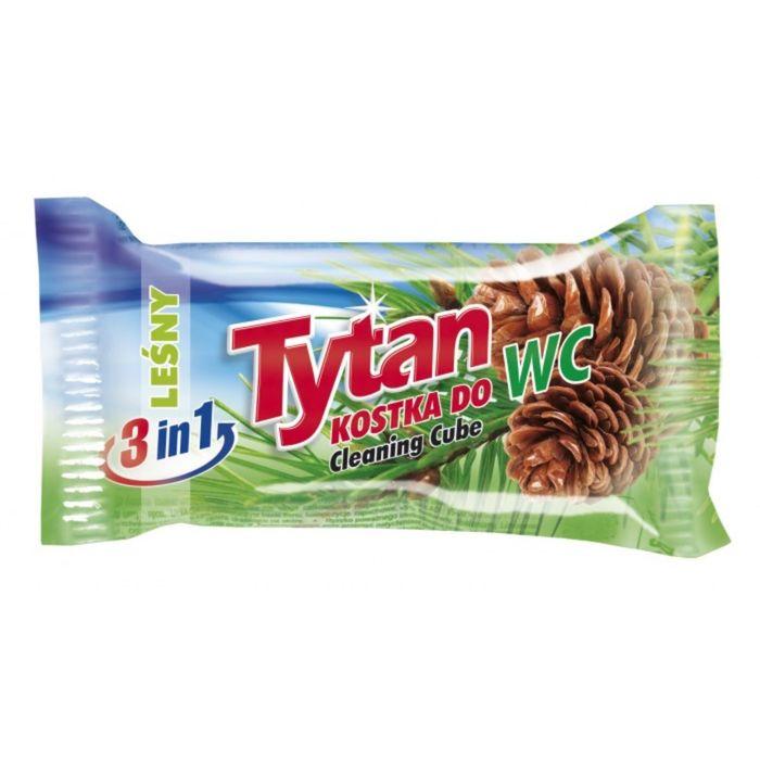 Двухфазный туалетный ароматизатор Tytan, лесной, запасной блок, 40г