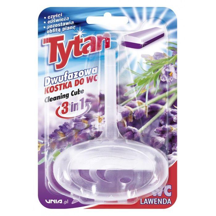 Двухфазный туалетный ароматизатор Tytan, лаванда, 40г