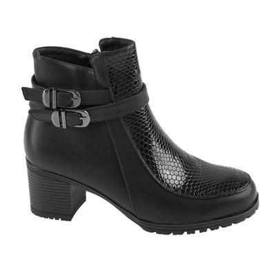 Ботинки женские SANDWAY арт. B7600-1 (черный) (р. 36)