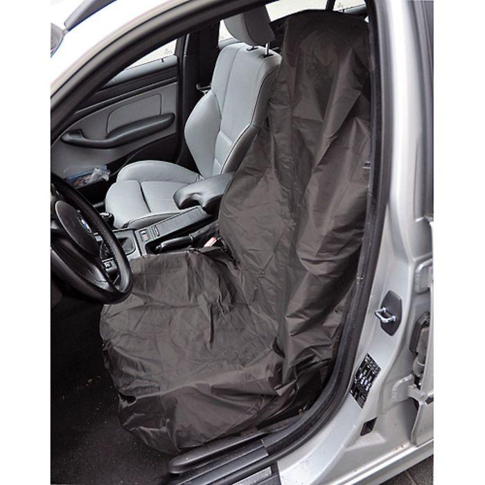 Чехол защитный на переднее сиденье, чёрный