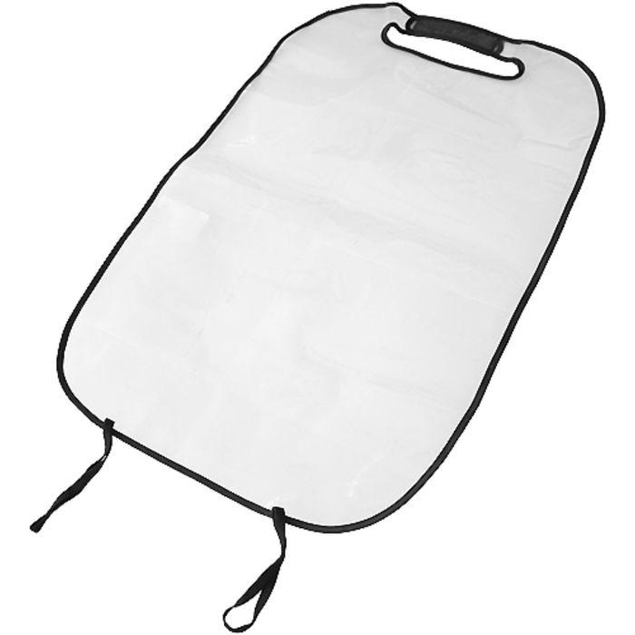 Накидка защитная на спинку переднего сиденья 55х44 см, прозрачный