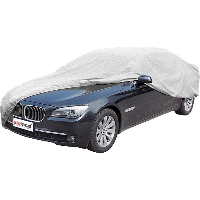 Чехол-тент автомобильный, Sedan 533х178х119 см (XL), серебряный