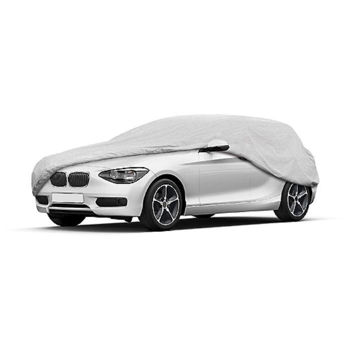 Чехол-тент автомобильный, Hatchback 445х175х140 см (L), серебряный