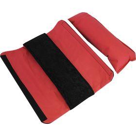 Подушка автомобильная на ремень безопасности 11х30 см, чёрный