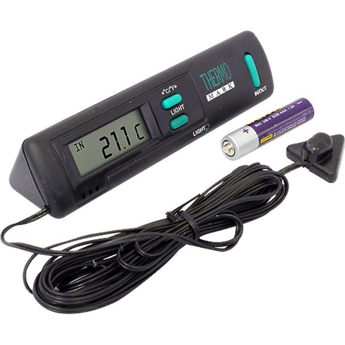 Термометр цифровой, датчик наруж. темп., ЖК-экран