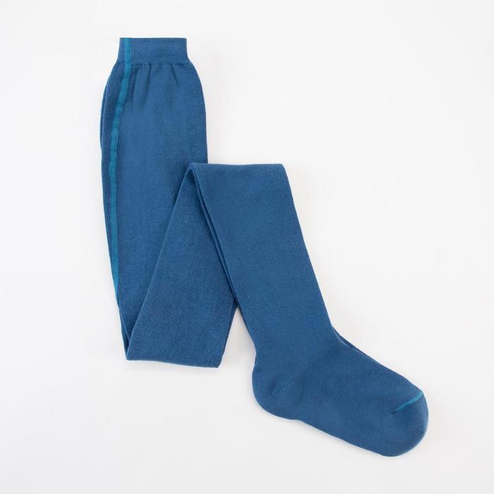 Колготки детские КДО, цвет джинсовый, рост 128-134 см - фото 1748035