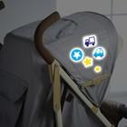 Наклейки светоотражающие на коляску «Наш сыночек» (набор)