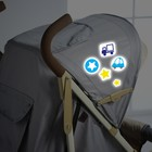 "Reflective stickers on the stroller, ""Our son"" (set)"