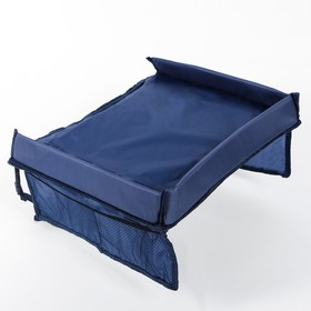 A table organizer for baby car seat 38x31 cm, blue