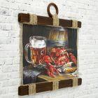 """Сувенир свиток """"Раки и пиво"""" - фото 7410664"""